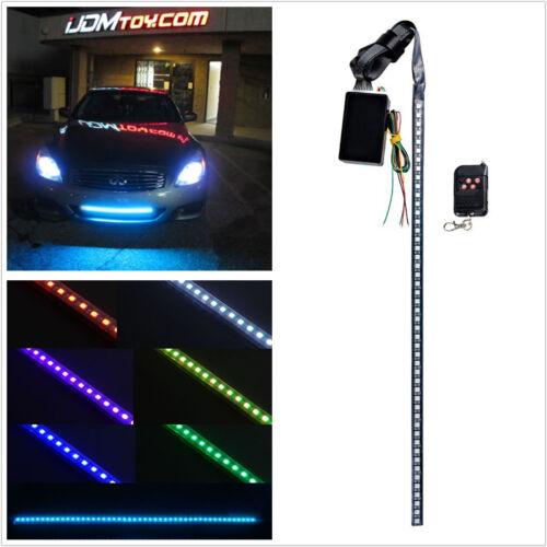 48 SMD LED Knight Rider Escáner de Flash estroboscópico Tira de Luz de Neón para bajo spoiler