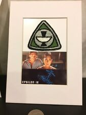 STAR TREK THE MOTION PICTURE SCREEN USED EPSILON SPACE STATION LOGO PATCH