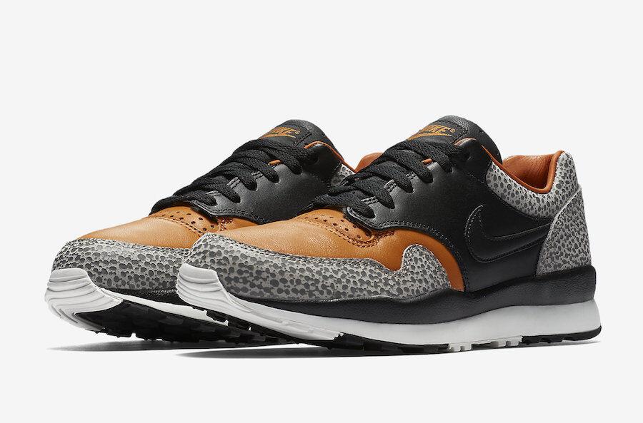 Nike Air Safari QS tamaño 1 12.Monarca negro naranja.Ao3295-001.Air Max 1 tamaño especial de tiempo limitado 8a6b42