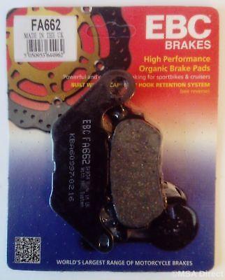 EBC Organic FRONT and REAR Disc Brake Pads Honda CBF600N Non ABS 2004 to 2011