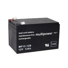 Blei-Gel Akku 12V 12Ah AGM bgl. Cane 6-DZM-12 Storace SR12-12 Accu Batterie