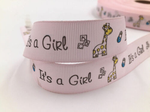 Wholesale printed grosgrain ribbon Hair bow sewing Crafts 25mm 2//5//10yds 1/'/'