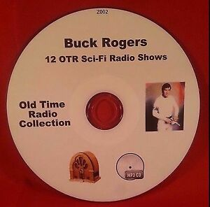 Buck-Rogers-in-the-25th-Century-OTR-Sci-Fi-MP3-CD-12-Old-Time-Radio-Audio-Book