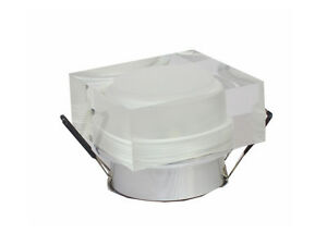 10pcs-3W-Acrylique-LED-Spot-Encastrable-Forme-Carre-Blanc-Chaud-Restaurant-Hotel