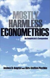 Mostly-Harmless-Econometrics-An-Empiricist-039-s-Companion-Paperback-by-Angris