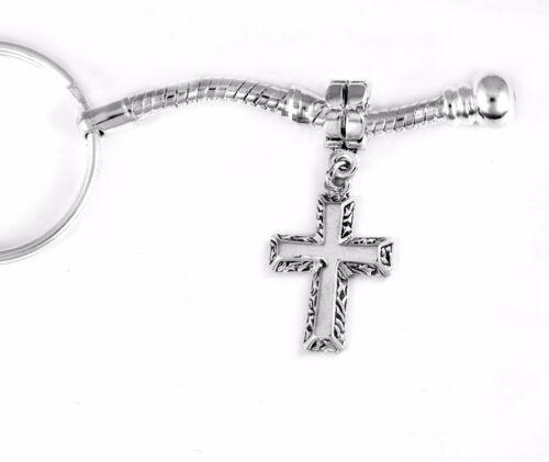 Cross Key chain Huge sale ornate Cross key chain Cross gift Cross keychain