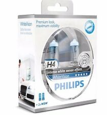 NEW Philips H4 4300K White Vision  12342WHVSM