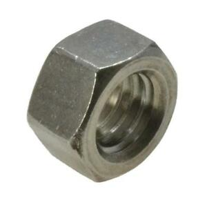 Qty-1-Hex-Full-Nut-1-034-UNC-Imperial-Marine-Grade-Stainless-SS-316-A4-70