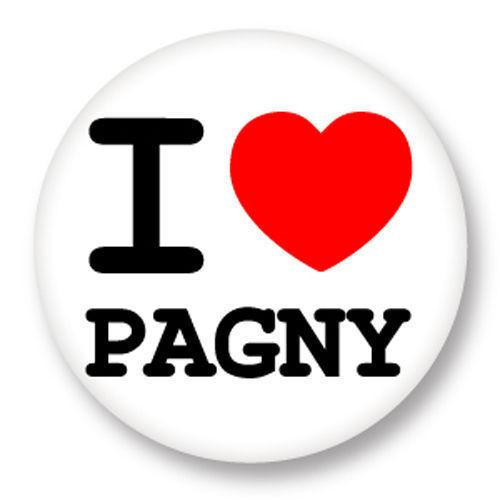 Magnet Aimant Frigo Ø38mm ♥ I Love You j/'aime Florent Pagny