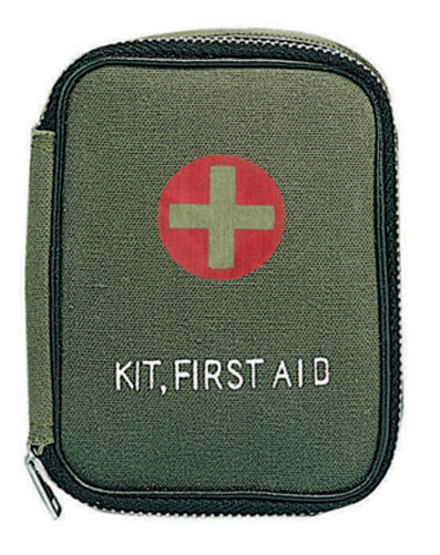 First Aid Kit for Hunters Survival Emergency Camping - Military Style