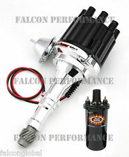PerTronix Ignitor II/2 BILLET Flame-Thrower Distributor+Coil Buick 400 430 455