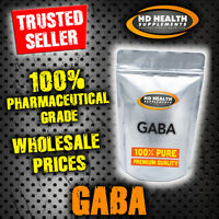 Pure Gaba Powder 200g | Gamma-aminobutyric Acid | Stress & Sleep Support Gh