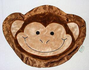 Monkey Elephant and moon silkie baby blanket