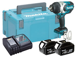MAKITA-18V-3-4-034-BRUSHLESS-HEAVY-DUTY-IMPACT-WRENCH-DTW1001-5-0AH-PACK