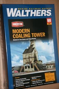 WALTHERS-933-2903-MODERN-COALING-TOWER-BUILDING-KIT-NEW