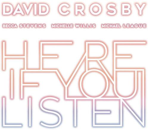 David Crosby - Here If You Listen [New Vinyl]