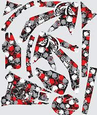 Graphic kit for 2005-2014 Honda CRF 450X CRF450X Decal fender shrouds skull