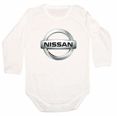 BABY BODY BODYSUIT FUTURE NISSAN Driver LOGO FUN CAR KURZARM LANGARM