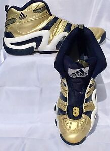 finest selection 49d9e 7e08f Image is loading Adidas-Sneaker-Shoe-Crazy-8-Notre-Dame-March-