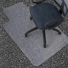 office chair mat hard floor protector 36 x 48 clear vinyl chairmat