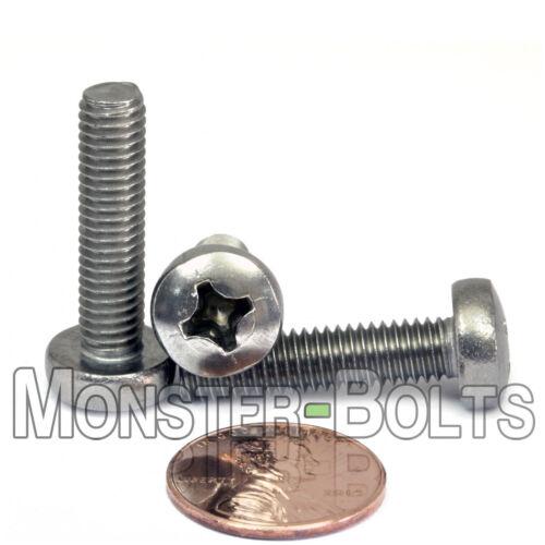 6mm Ø PHILLIPS PAN HEAD MACHINE SCREWS STAINLESS STEEL A2 DIN 7985 Size M6