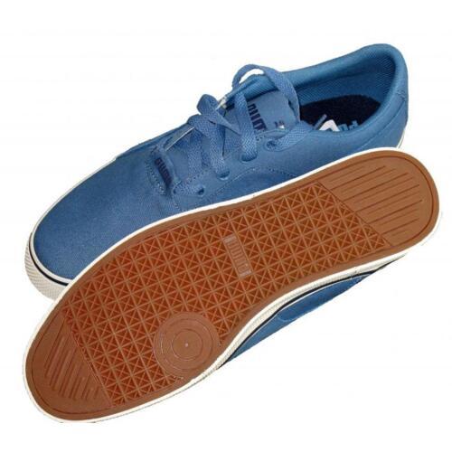 6 5 Desert Clair Trainers Canvas Chaussures Up sport Uk de Lace Mens Puma Vulc Bleu panOC61