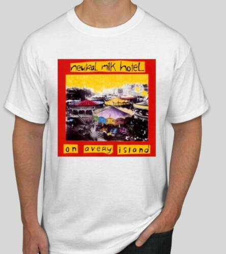 Neutral Milk Hotel T shirt Tee Punk Folk Music Rock Island