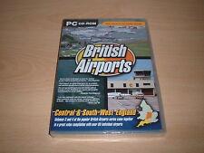 ✈️ BRITISH AIRPORTS VOLS 3 & 4 TWIN PACK FLIGHT SIMULATOR 2004 FS2004 ADD-ON NEW