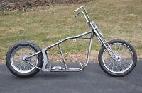 Kraft Tech Softail Bobber Chopper Frame Rolling Chassis Roller Harley Bike Kit
