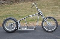 Kraft Tech Softail Bobber Chopper Frame Rolling Chassis Roller Harley Bike Kit
