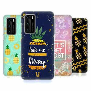 COVER HEAD CASE DESIGNS ANANAS stampe HARD BACK CASE PER Huawei Telefoni 1