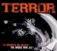 TERROR No Regrets no Shame LIVE CD & VIDEO DVD SEALED USA Seler Bridge Nine Days