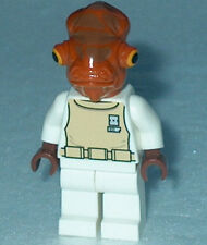 STAR WARS #10 Lego Admiral Ackbar NEW 7754 Genuine Lego
