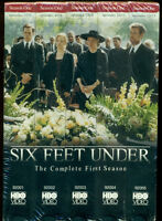 Video - Vhs - Six Feet Under - The Complete First Season - 5 Tape Set - Sealed