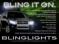 Ford Escape / Mercury Mariner / Mazda Tribute LED DRL Head Lamp Light Strips Kit