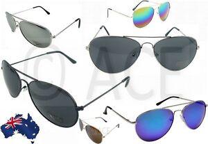 e977628c5616 Image is loading Mens-Womens-Aviator-Sunglasses-Smoke-Mirror-Lens-Silver-