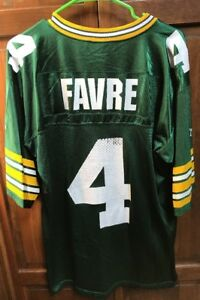 Starter-Green-Bay-Packers-Brett-Favre-4-Jersey-Green-Men-L-48-Vintage-1995