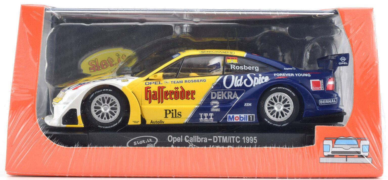 Slot it  Old Spice  Opel Calibra - 1995 DTM ITC Avus Anillo 1 32 ranura de coche CA36C