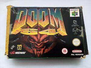 Doom 64 En Caja-Nintendo 64-N64