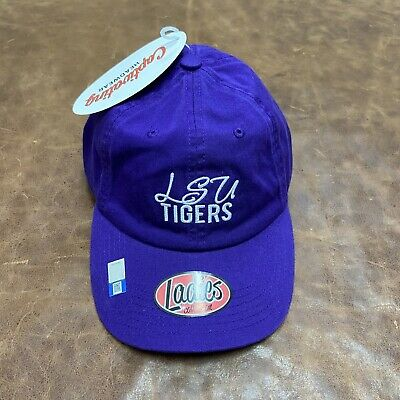 Campus Hats LSU Tigers Purple 100/% Cotton Unstructured Relaxed Scholarship Top Adult Mens//Womens Youth Baseball Hat//Cap Size Adjustable