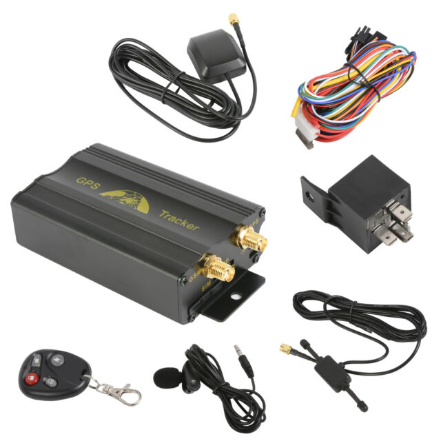 Hot Mini GSM SMS Vehicle Car GPS Tracker Tracking Device TK103B Alarm System VG2