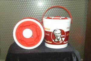 Kfc Vacuum Flask Cooler Bag Snack Bucket Screw Cap Tube
