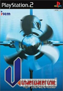 PS2-Import-Japan-U-underwater-unit-U