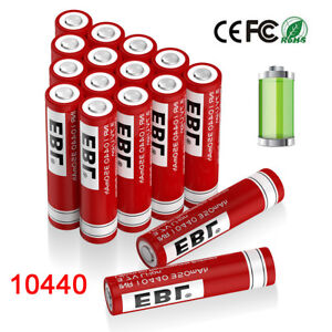 EBL-10440-3-7V-350mAh-Rechargeable-Li-ion-Battery-for-LED-Flashlights-Remote-Toy
