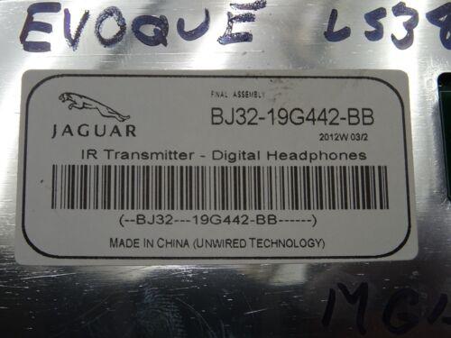 RANGE ROVER DISCOVERY 4 EVOQUE WIRELESS HEADPHONE TRANSMITTER BJ32-19G442-BB