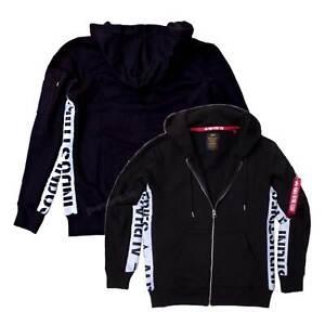 Details zu Alpha Industries AI Inlay Zip Hoody 198361 Sweat Jacket 80% Cotton 20% Polyester