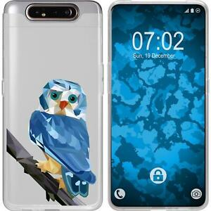 Galaxy-A80-Coque-en-Silicone-animaux-vecteur-M1-Case