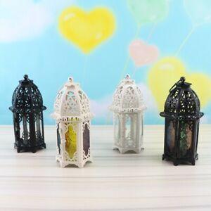 Moroccan Lantern Tea Light Lamp Candle Holder Hanging Garden Wedding Decorative