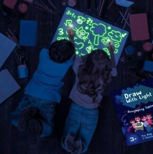 HOT-A3-Zeichnen-mit-Licht-Spass-und-Entwicklungsspielzeug-fuer-Kinder-Big-Pack-de