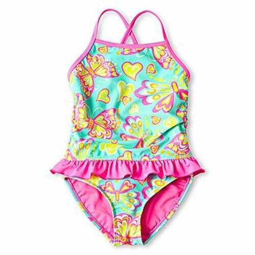 UV Protection Swimsuit 18 24 2 Yr NWT Breaking Waves Baby Girl UPF 50